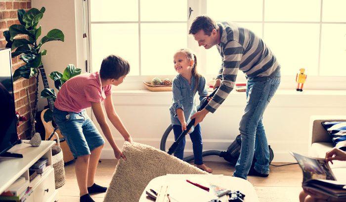 vaikai buities darbai